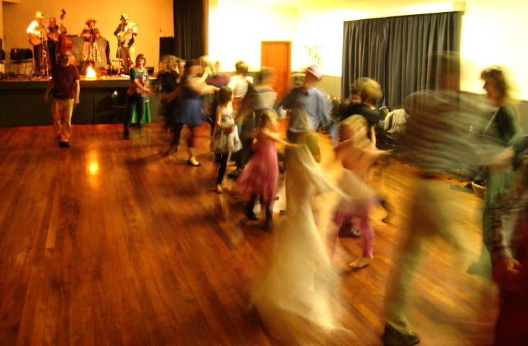 Dance at Post Election Hoedown